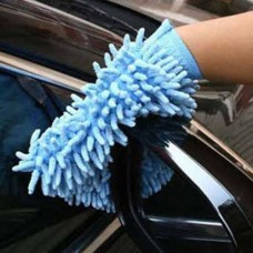Microfiber Double Sides Car Truck Washing Gloves Cleaning Mitt Duster Soft Towe