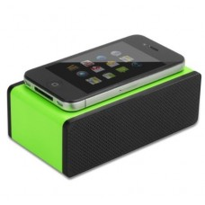 Green Portable Mini Wireless Magic iPhone Speakers Mutual Electromagnetic Induction Amplifier Speakers